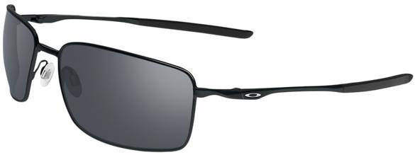 Oakley Square Wire Men's Sunglasses - Polished Black / Black Iridium