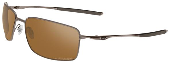 Oakley Square Wire Men's Sunglasses - Tungsten / Tungsten Iridium Polarized