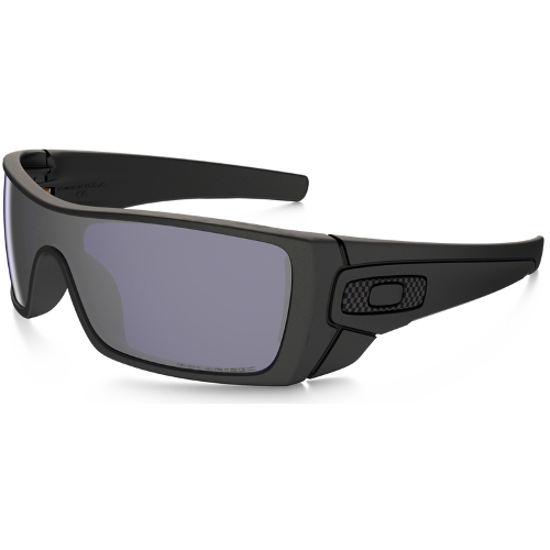 Oakley Batwolf Men's Sunglasses - Matte Black / Grey Polarized