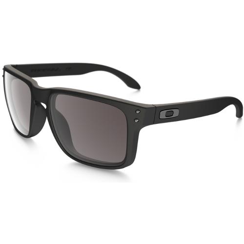 Oakley Holbrook Men's Sunglasses - Matte Black / Warm Gray