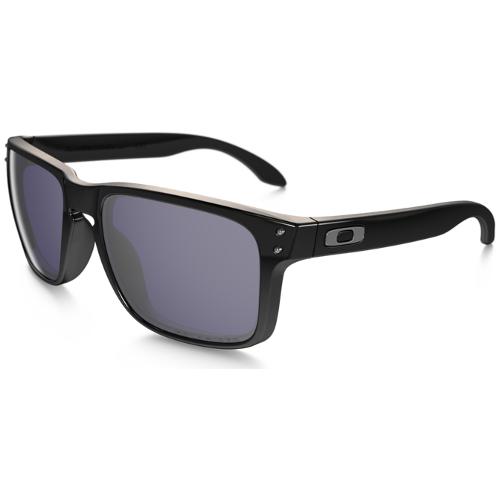 Oakley Holbrook Men's Sunglasses - Polished Black / Gray Polarized