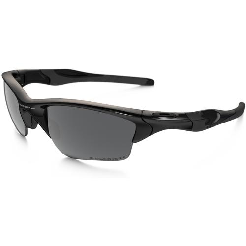 Oakley Half Jacket 2.0 XL Men's Sunglasses - Polished Black / Black Iridium Polarized