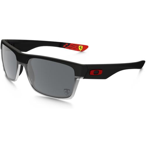 Oakley Scuderia Ferrari Twoface Men's Sunglasses - Matte Black / Black Iridium