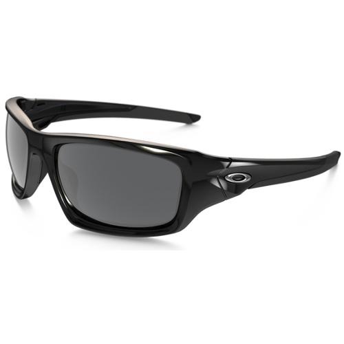 Oakley Valve Men's Sunglasses - Polished Black / Black Iridium