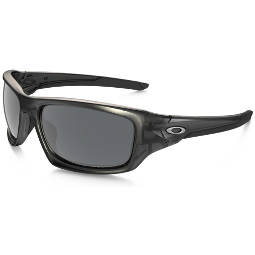 Oakley Valve Men's Sunglasses - Matte Gray Smoke / Black Iridium Polarized
