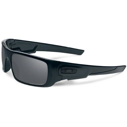 Oakley Crankshaft Men's Sunglasses - Matte Black / Black Iridium Polarized