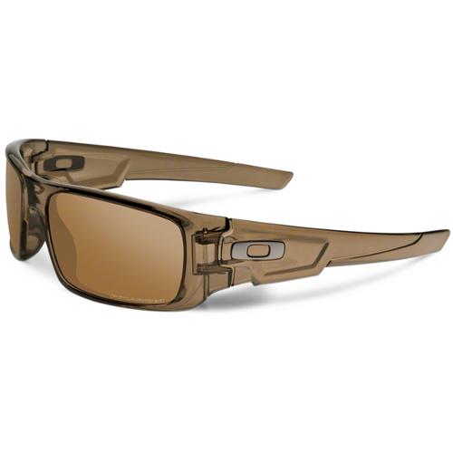 Oakley Crankshaft Men's Sunglasses - Brown Smoke / Tungsten Iridium Polarized