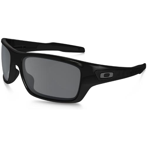 Oakley Turbine Men's Sunglasses - Polished Black / Black Iridium