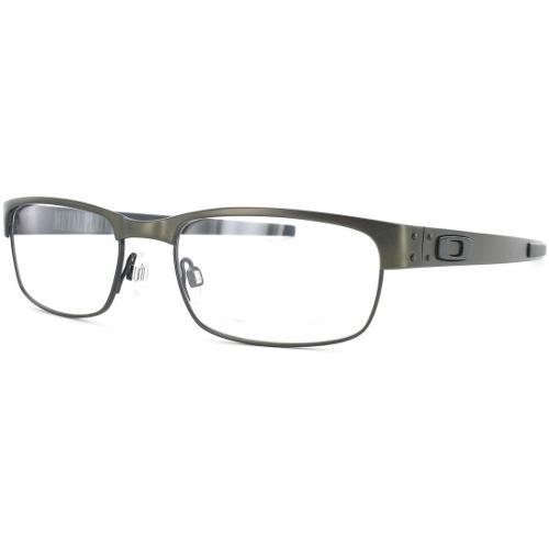 Oakley Metal Plate Men's Eyeglasses - Pewter