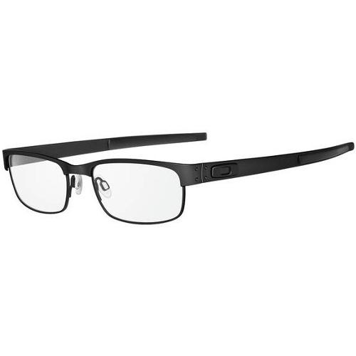 Oakley Metal Plate Men's Eyeglasses - Matte Black