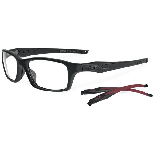 Oakley Crosslink Men's Eyeglasses - Black Satin