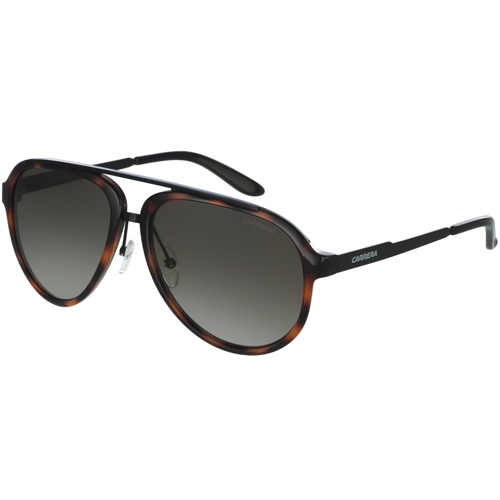 aacd9ca1ea289 762753275103. Carrera Aviator Sunglasses - Havana Matte Black   Brown  Gradient