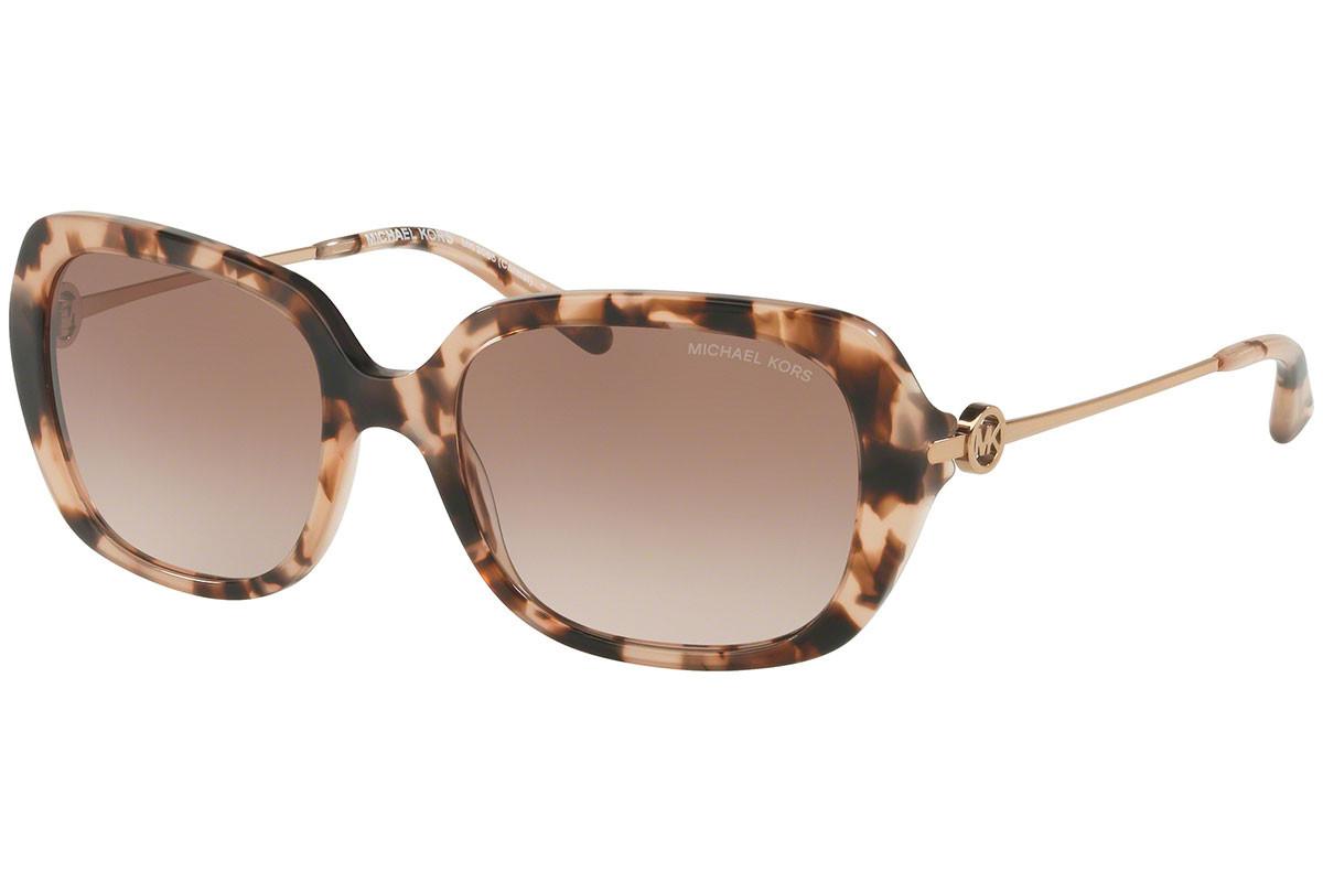 UPC 725125997881 product image for Michael Kors Carmel Women's Sunglasses - Pink Tortoise/Brown-Peach Gradient | upcitemdb.com