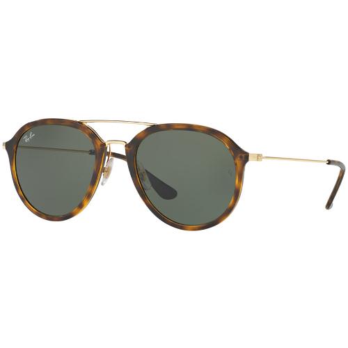 Ray-Ban RB4253 Aviator Sunglasses - Light Havana / Green