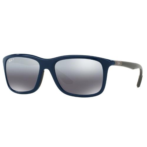 Ray-Ban RB8352 Wayfarer Sunglasses - Blue / Grey Polarized