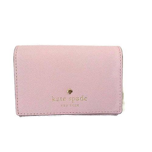 Kate Spade New York Mikas Pond Christine Leather Wallet - Possy Pink 68K-L39-WLRU1687953