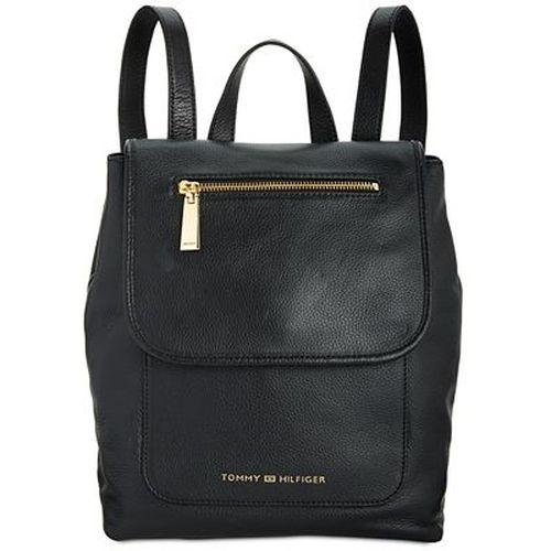 Tommy Hilfiger Emilia Pebble Leather Backpack - Black