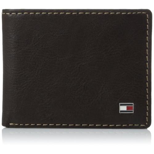 Tommy Hilfiger Men's Logan Passcase Wallet - Brown