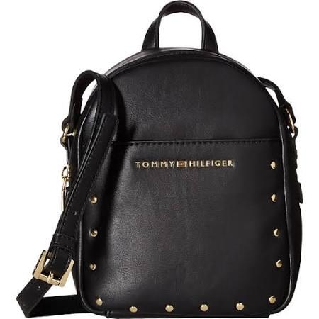Tommy Hilfiger Betty Mini Backpack Crossbody - Black