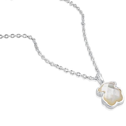 TOUS Silver Bear Necklace