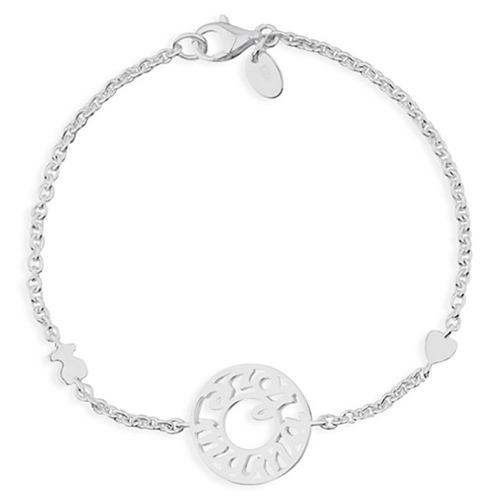 TOUS Sterling Silver Mama Bracelet