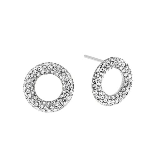 Michael Kors Brilliance Open Circle Studs -