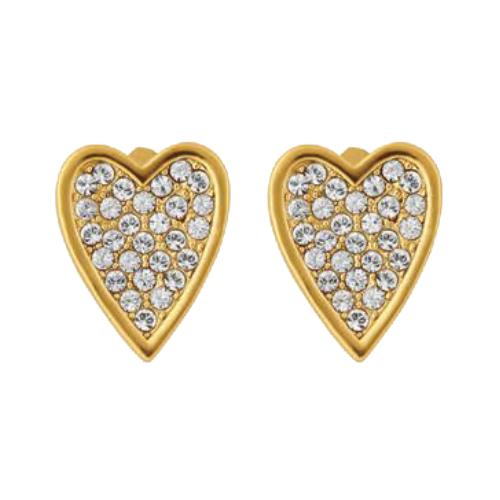 More to Adore Heart Earrings