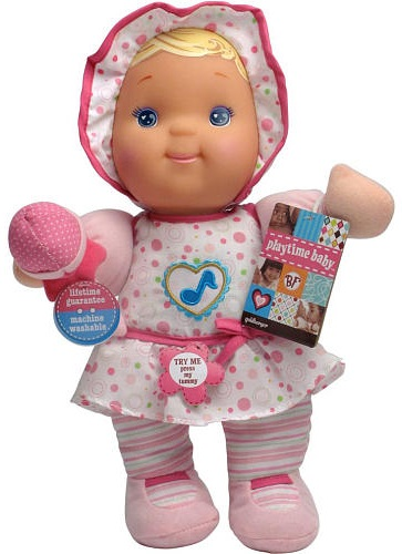 Goldberger Baby's First Playtime Baby Doll