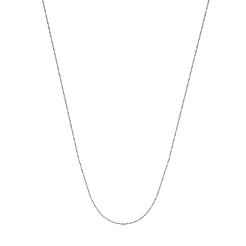 """14K Wg 18"""" 0.8Mm D/C Cable Chain"""