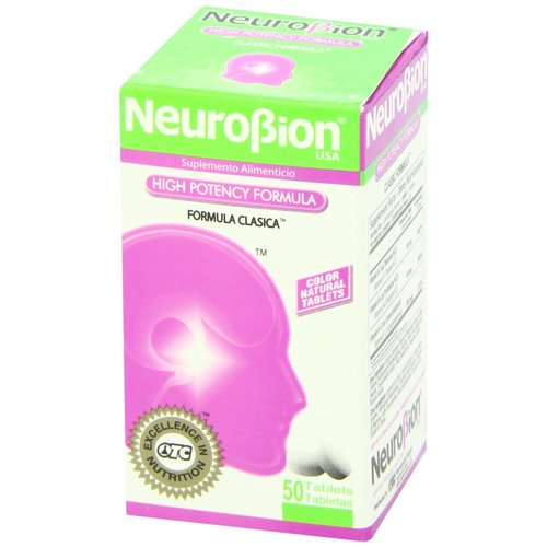 Neurobion Classic Vitamin B Energy Booster - 50 Tablets