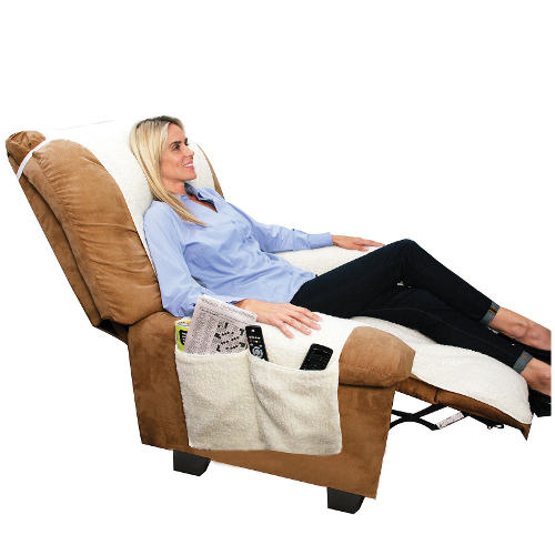 As Seen on TV Snuggle Up Fleece Recliner Cover