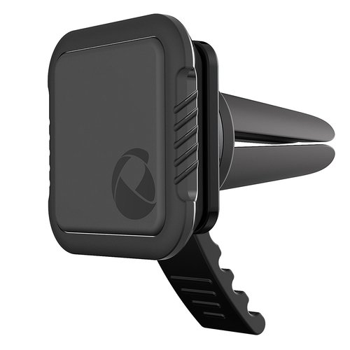 Qmadix Universal Magnetic Car Vent Mount Holder with FASTattach Technology for Smartphones and Tablets - Black