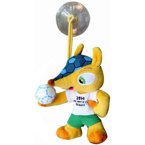 2014 FIFA World Cup Mascot with Suction Cup 79A-M78-FIFAFULECO13