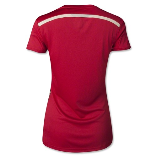 Adidas Spain Women's Home Jersey World Cup 2014 - Large 79T-M78-G85230L