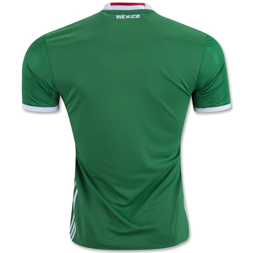 Adidas Mexico 2016 Home Soccer Jersey - 2XL 79T-R94-AC2723XXL