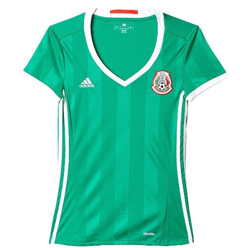Adidas 2016 Mexico Women's Home Jersey - Large 79T-R94-AC2727L