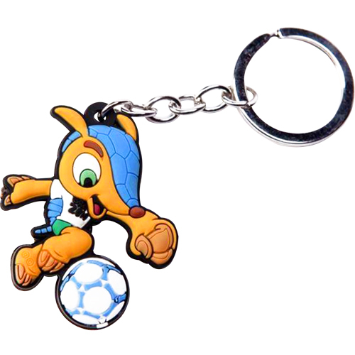 2014 FIFA World Cup Fuleco Keychain 79A-M78-FIFAKEYCHAIN