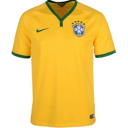 Nike Brazil Home Replica Jersey - Large 79T-M78-575280703L