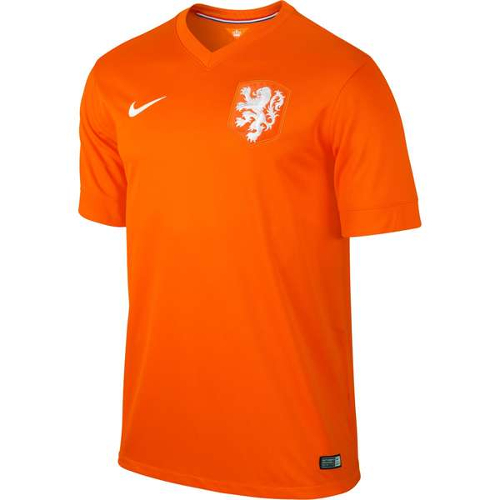 Nike Netherlands Home Jersey World Cup 2014 - 2XL 79T-M78-5779628152X