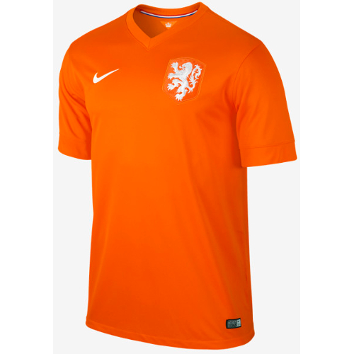 Nike Netherlands Home Jersey World Cup 2014 - XL 79T-M78-577962815XL