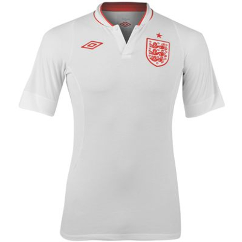 Umbro England Home Jersey White - Large 79T-M78-73302UJHX44