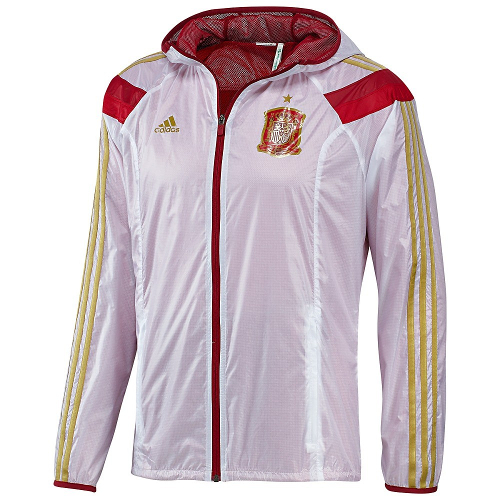 Adidas Spain Anthem Track Jacket World Cup 2014 - Small 79T-M78-D83723S