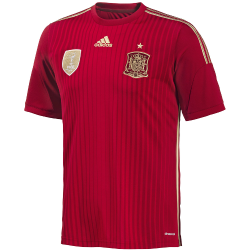 Adidas Spain Home Jersey World Cup 2014 - Small 79T-M78-G85279S