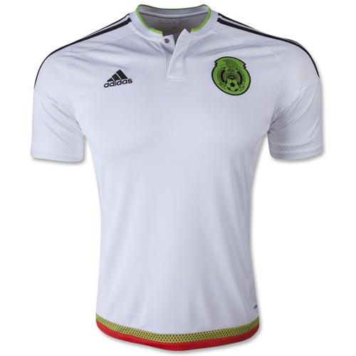 Adidas Mexico Away Jersey 2015 - XL