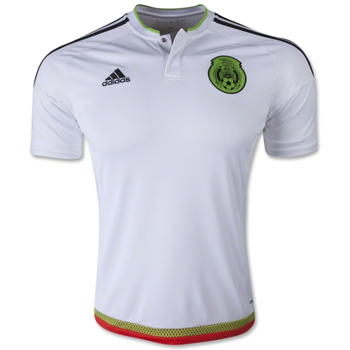 Adidas Mexico Away Jersey 2015 - Small 79T-M78-M36019S
