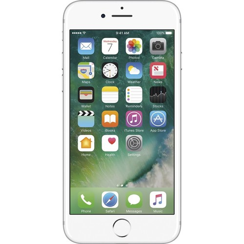 """Apple® iPhone 7 4.7"""" / 32GB HDD Cell Phone T-Mobile - Silver"""
