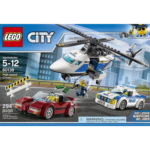 Lego City Police High-Speed Chase 12L-P67-60138