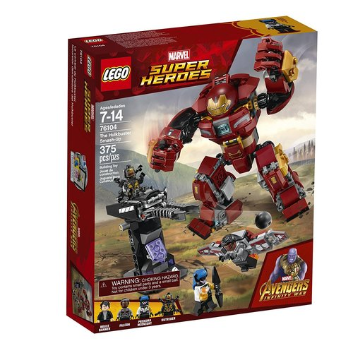 Lego Super Heroes The Hulkbuster Smash-up 12L-P67-76104
