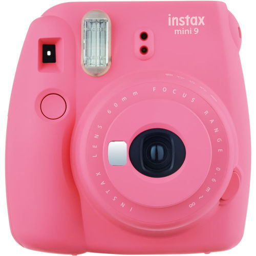 Fujifilm16550631 Instax Mini 9 Instant Film Camera - Flamingo Pink