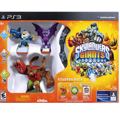 Skylanders Giants Starter Videogame - PlayStation 3 08L-G58-84391
